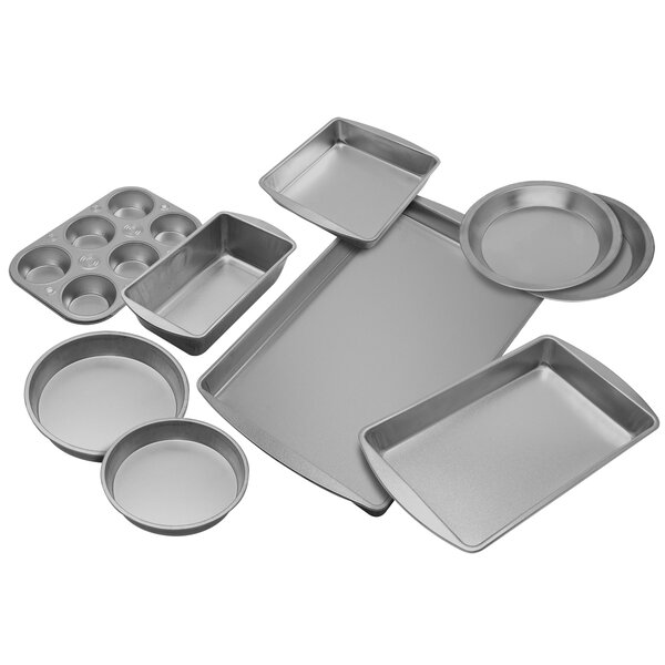 9 Piece Bakeware Set by EZ Baker