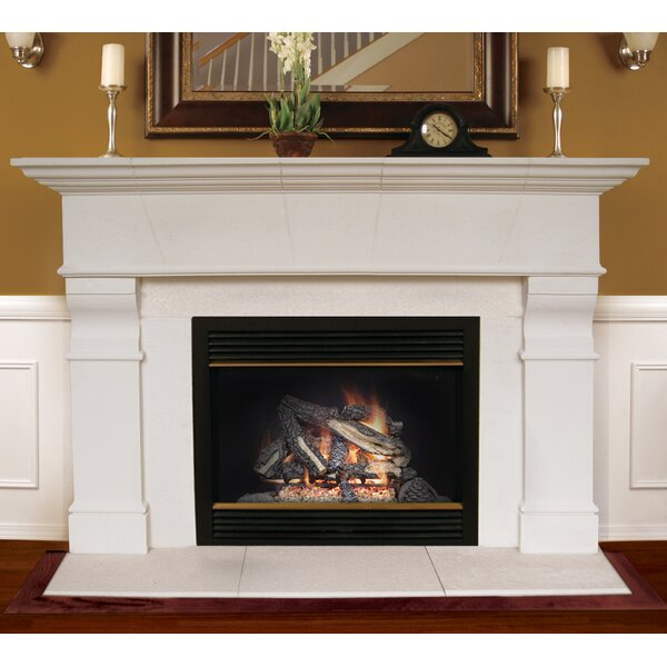 Roosevelt Fireplace Mantel Surround by Americast Architectural Stone