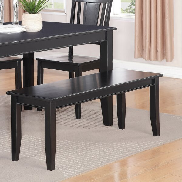Dudley Two Seat Wood Bench by Wooden Importers