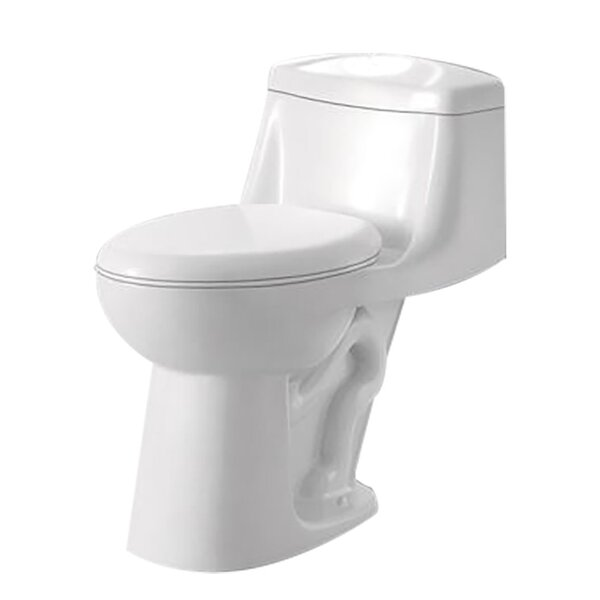 Templar 1.28 GPF Elongated One-Piece Toilet by ANZZI