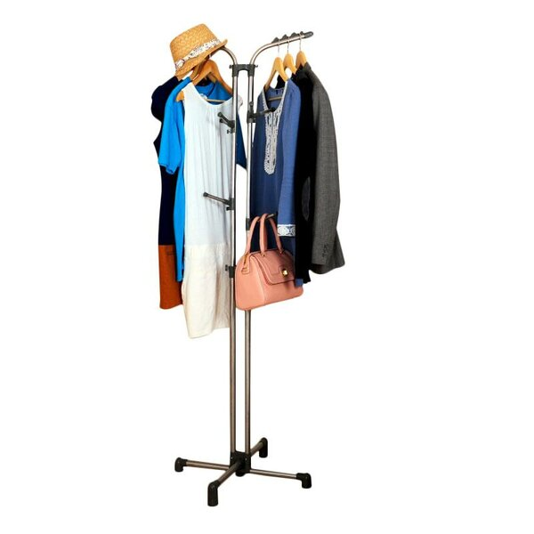 Clothes and Bag Storage Rack by Above Edge Inc.