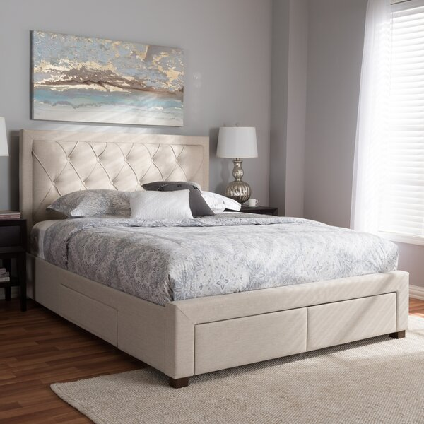 Tantallon Storage Upholstered Platform Bed by Rosdorf Park