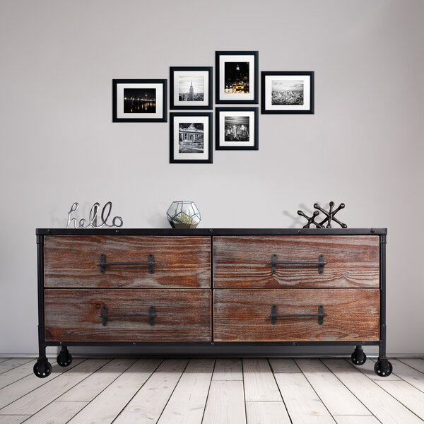 Parnassus 4 Drawer Double Dresser by Gracie Oaks