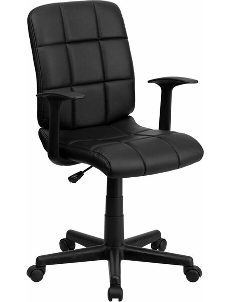 Drinnon Mid-Back Swivel Office Chair by Ebern Designs