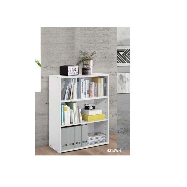 Latitude Run White Bookcases