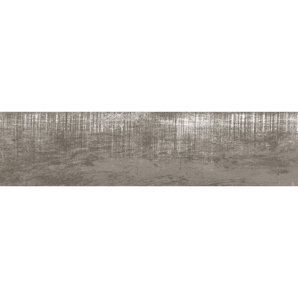 Lakewood 8 x 34 Porcelain Field Tile in Gray by Emser Tile