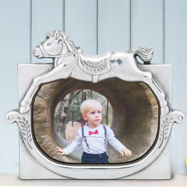 Rocking Horse Picture Frame by Arthur Court Designs