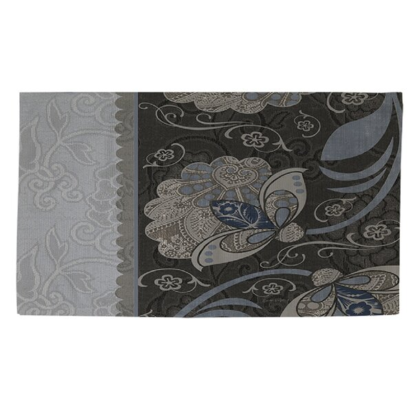 Elegante 4 Gray Area Rug by Manual Woodworkers & Weavers