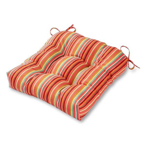 Indoor/Outdoor Dining Chair Cushion by Greendale Home Fashions