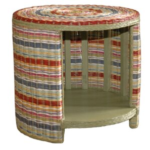 Saragosa End Table by Bay Isle Home