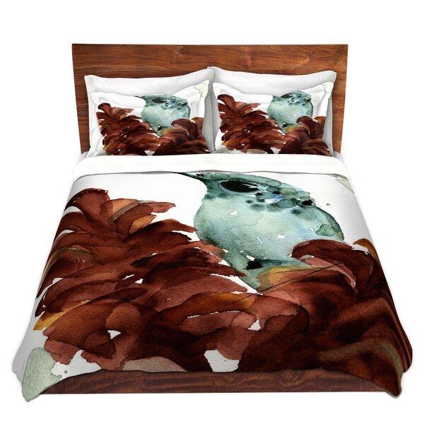 November Hummingbirds Duvet Cover Set
