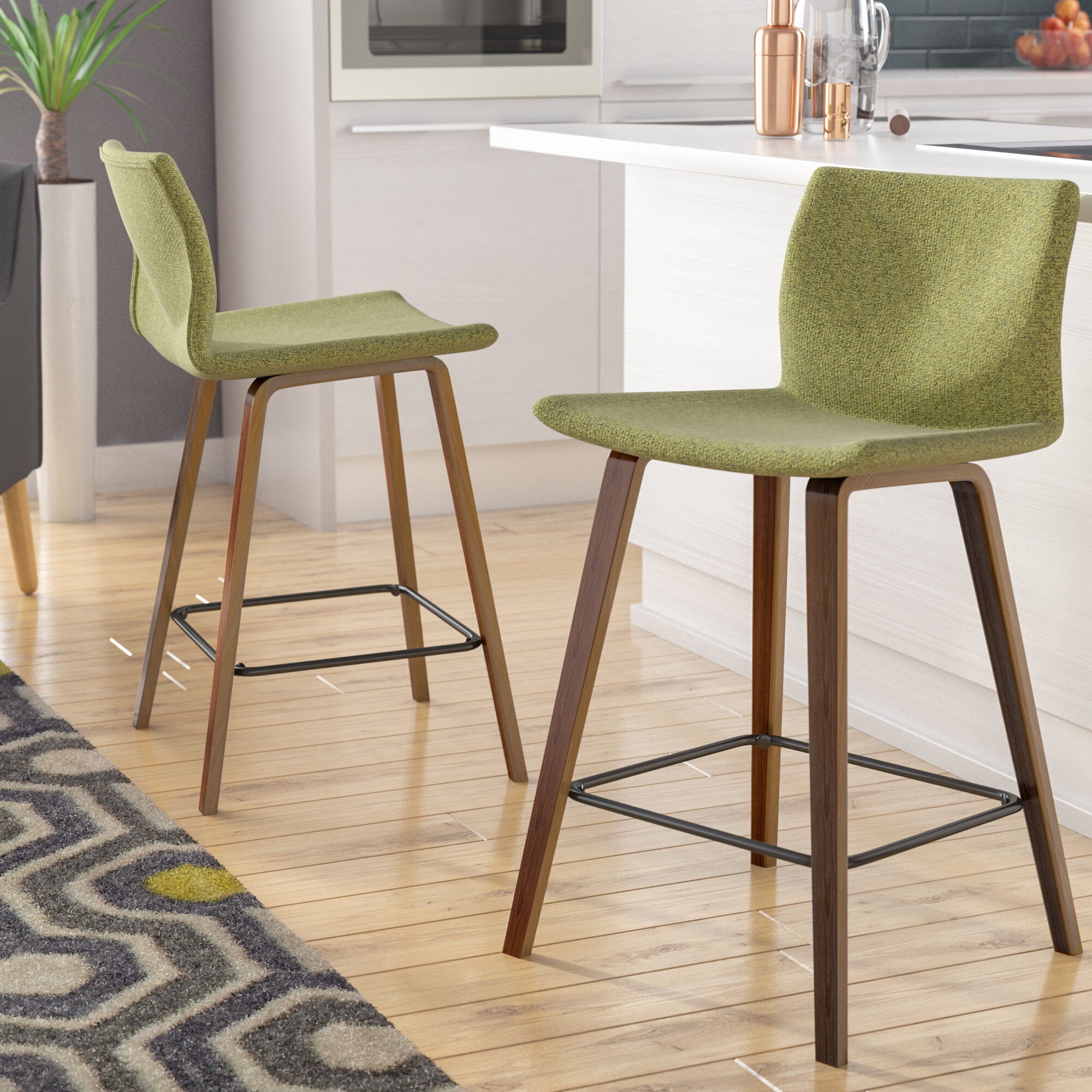 Corrigan Studio Colby 25 Bar Stool Reviews Wayfair
