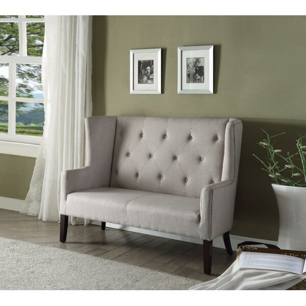 Purchase Online Rosedale Imperial Settee by Charlton Home by Charlton Home