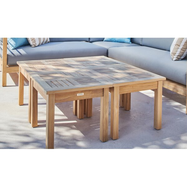 Cardoza Extendable Solid Wood Side Table by Corrigan Studio