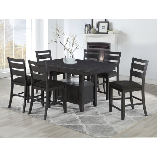 Offutt 7 Piece Pub Table Set by Canora Grey Canora Grey