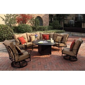Lanesville 7 Piece Fire Pit Seating Group With Cushions Part 36