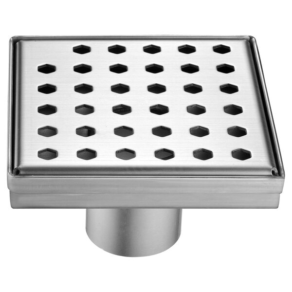 Thames River 2 Grid Shower Drain by Dawn USA