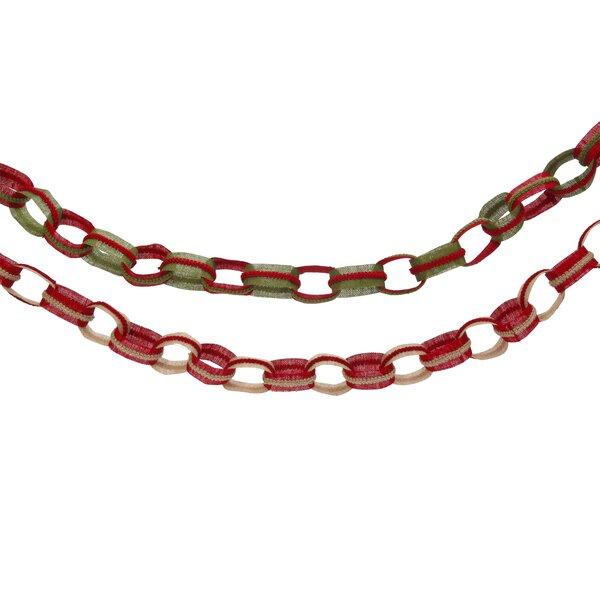 Burlap Chain Garland by Gerson International