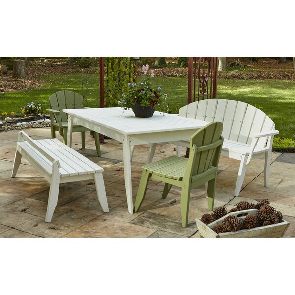 Plaza Wood Dining Table by Uwharrie Chair
