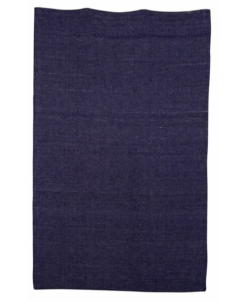 Aronson Hand-Woven Blue Kids Rug by Harriet Bee