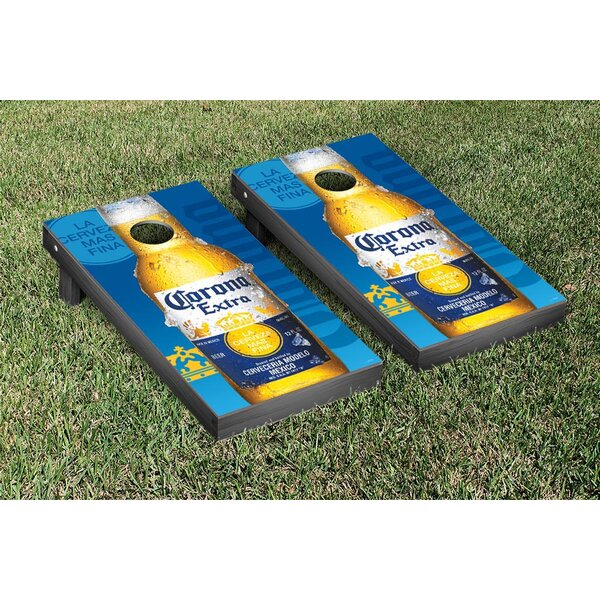 NCAA Corona Close Up Version Cornhole Game Set by Victory Tailgate