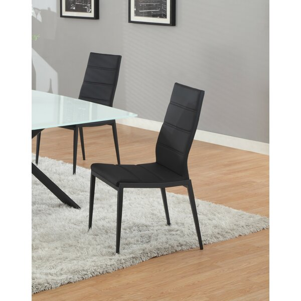 Jackie Upholstered Dining Chair (Set Of 4) By Orren Ellis