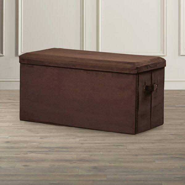Upholstered Storage Bench by Rebrilliant