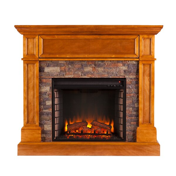 Shanley Convertible Electric Fireplace By Alcott Hill