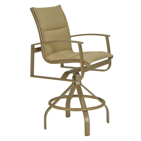 MainSail 30 Patio Bar Stool with Cushion by Tropitone