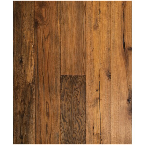 7-1/2 Engineered White Oak Hardwood Flooring in Antique Nickel by Easoon USA