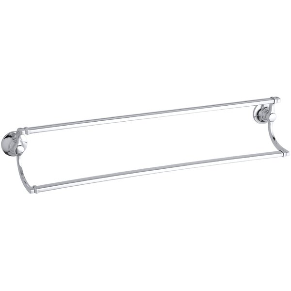 Bancroft Double 24 Wall Mounted Towel Bar by Kohler