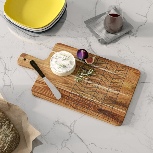 Bevilacqua Acacia Wood Cutting Board by Langley Street