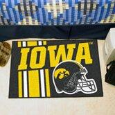 NCAA University of Iowa Starter Doormat by FANMATS