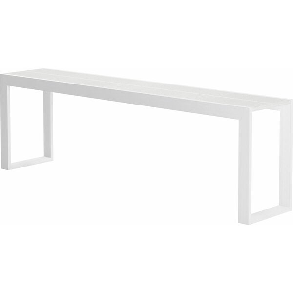 Home & Outdoor Grassingt Solid Wood Console Table