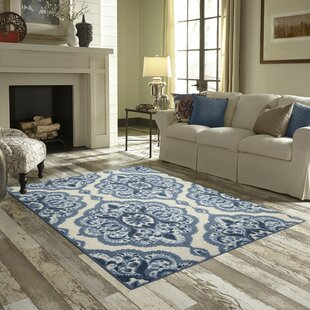 Hertel Blue Area Rug