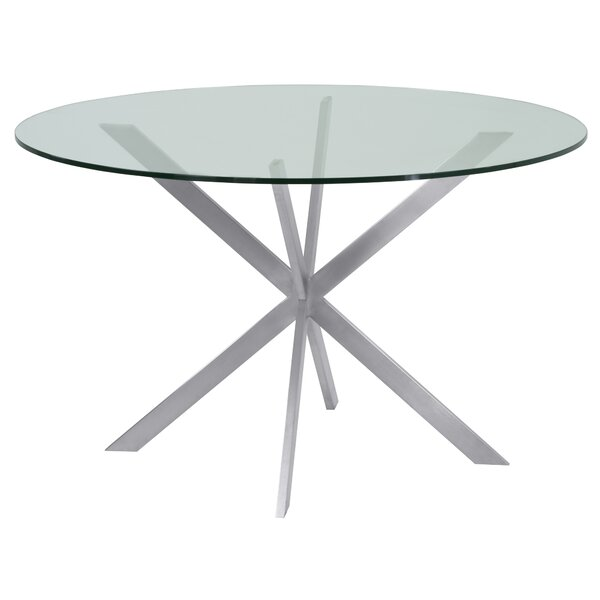 Hale Round Dining Table by Orren Ellis