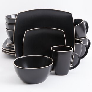 Black Dinnerware Sets Youll Love Wayfair