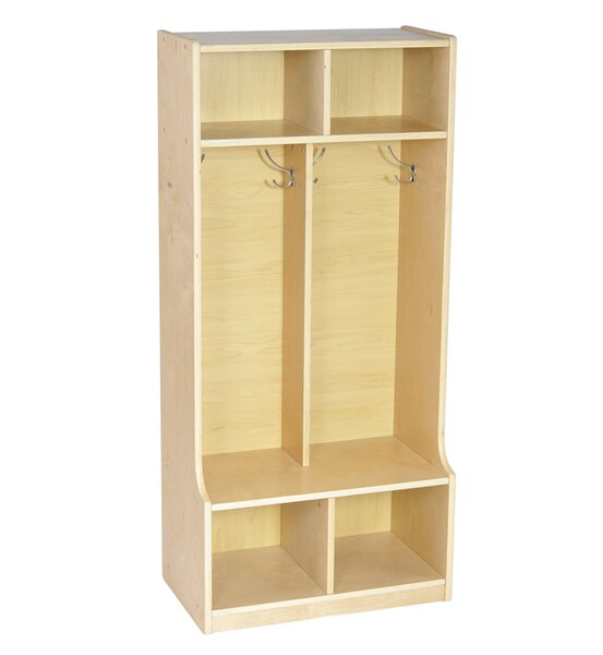 1 Tier 2 Wide Coat Locker by Offex