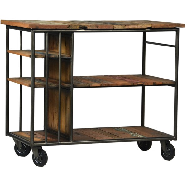 Burnley Trolley Bar Cart by Tipton & Tate