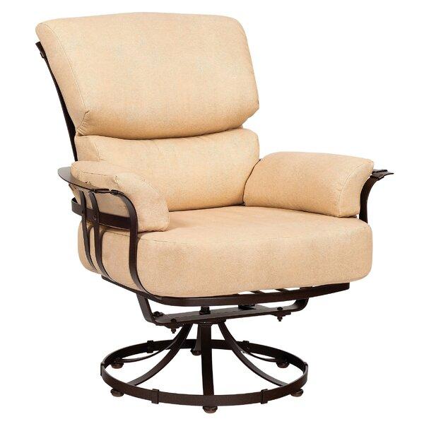 Atlas Swivel Patio Chair by Woodard