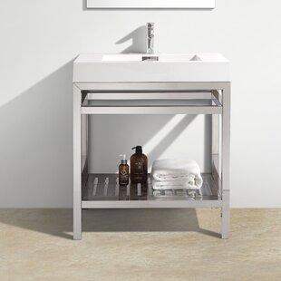Chrome Bathroom Vanities