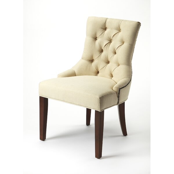 Derrek Upholstered Dining Chair By One Allium Way