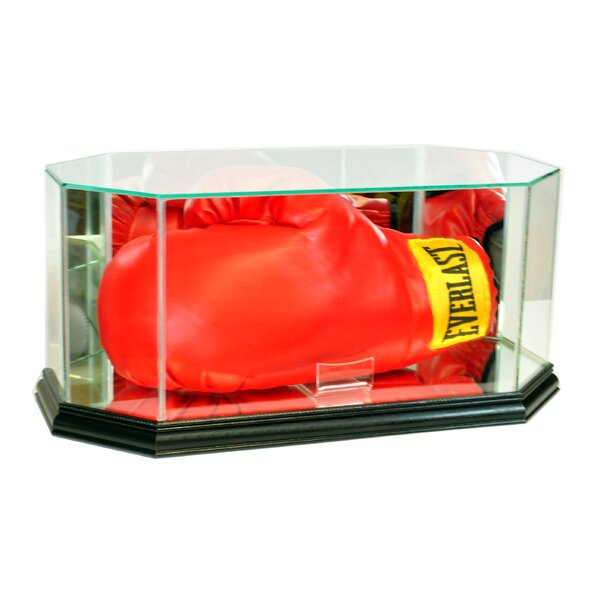 Octagon Boxing Glove Display Case by Perfect Cases and Frames