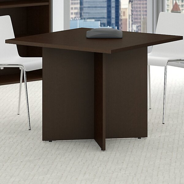 Square 29.66H x 35.79W x 35.79L Conference Table by Bush Business Furniture