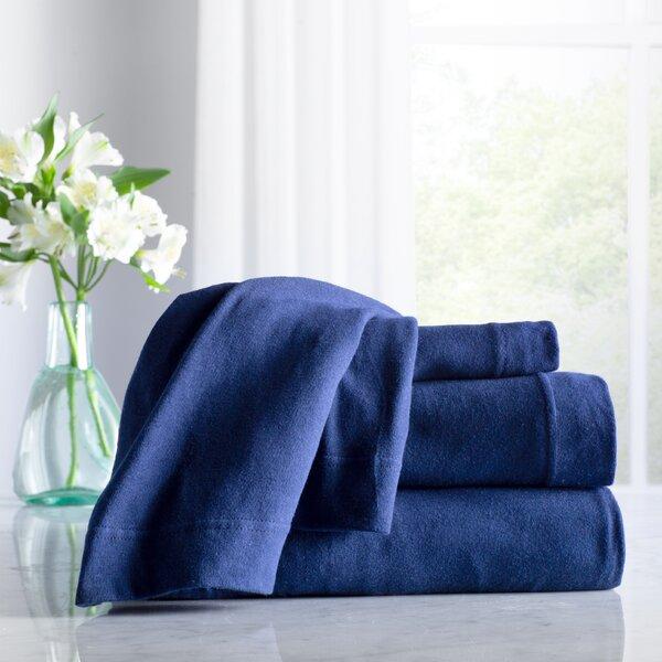 Wayfair Basics 100% Cotton Jersey Sheet Set