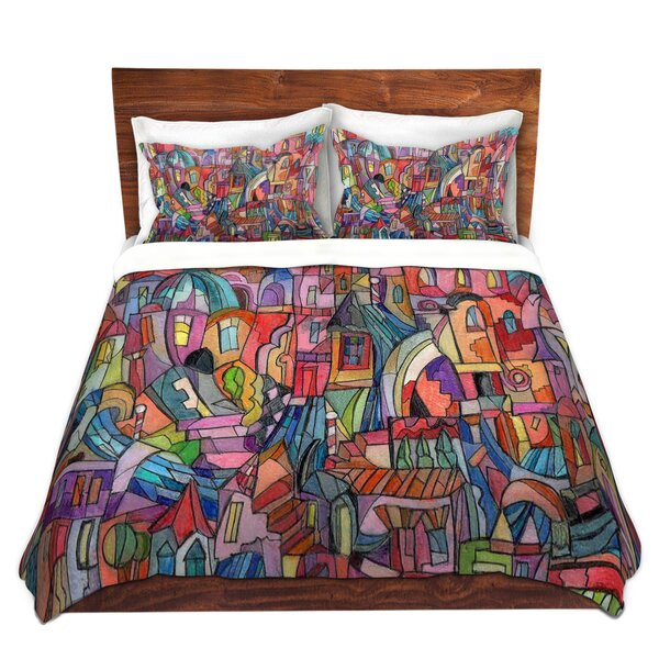Plemmons Maeve Wright Almost Venitian Microfiber Duvet Covers