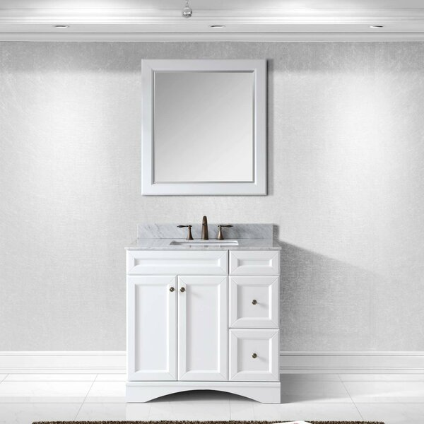 Rosado 36 Single Bathroom Vanity Set with Mirror by Three Posts