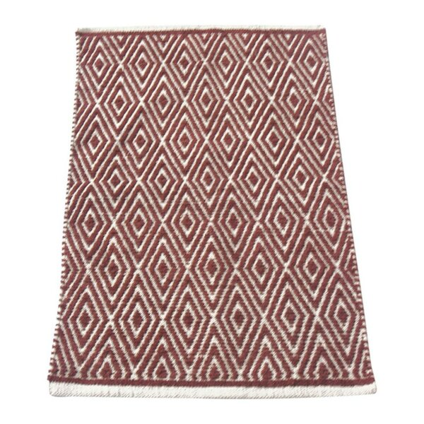 Fortin Red/Ivory Indoor/Outdoor Area Rug by Bungalow Rose