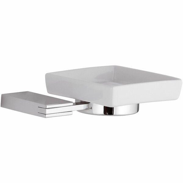 Marcell Wire Wall Mounted Ceramic Soap Dish by Latitude Run