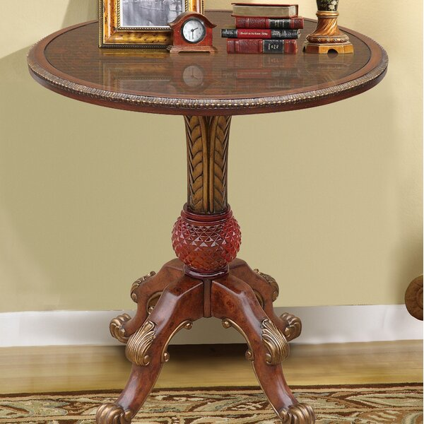 Rowsey Italian Hand Painted End Table by Astoria Grand